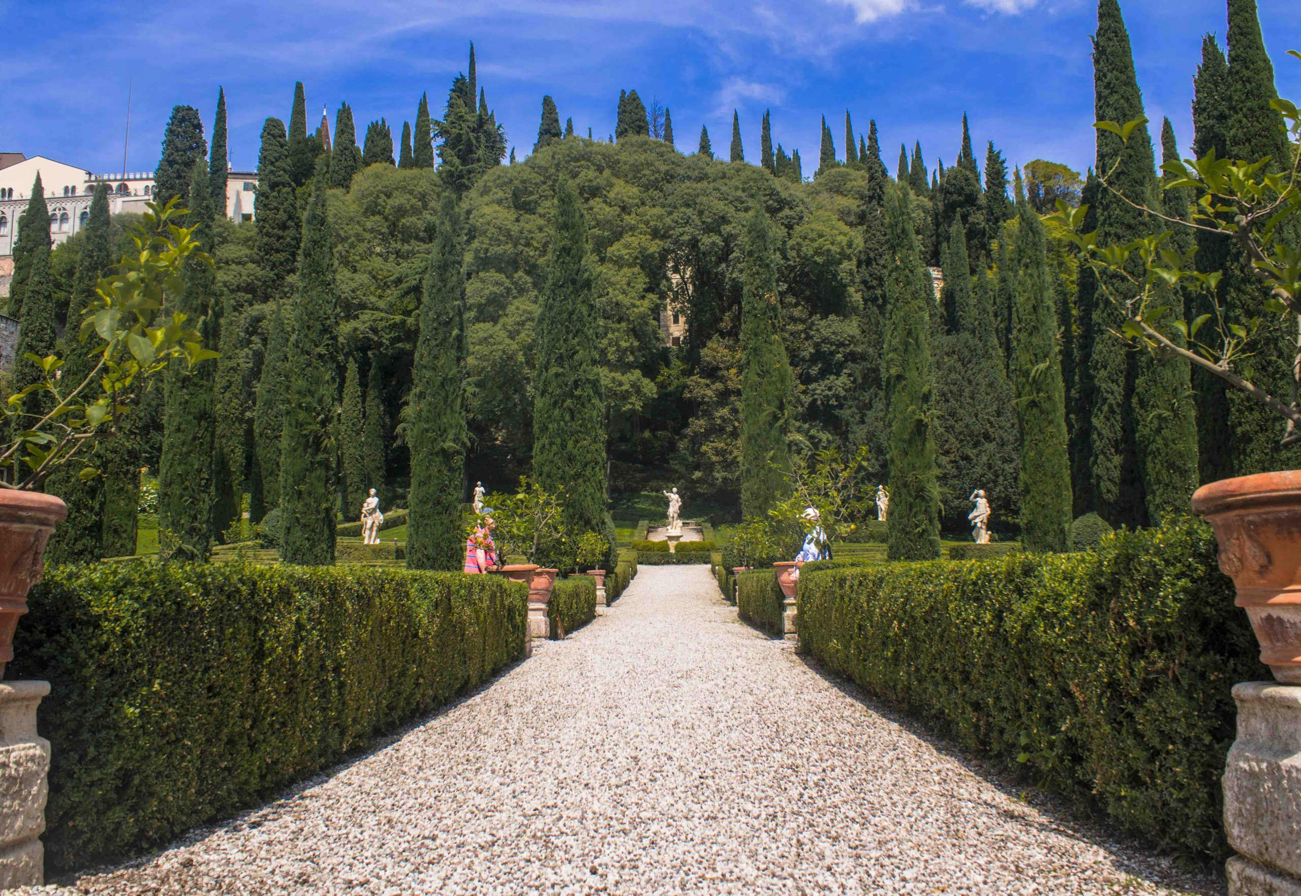 giardino giusti a verona viale