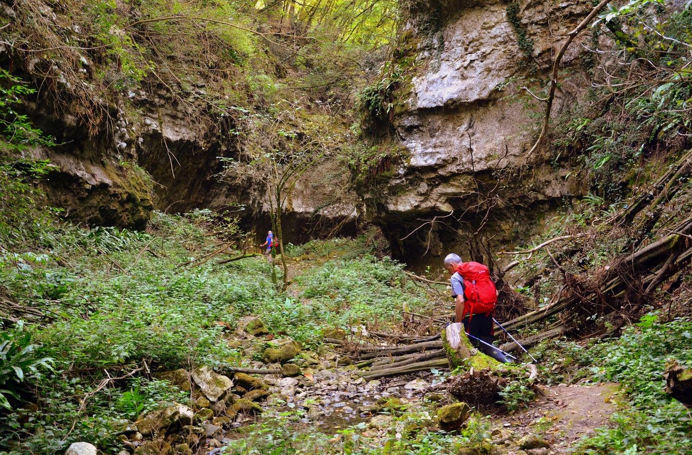 val borago escursione avesa canyon